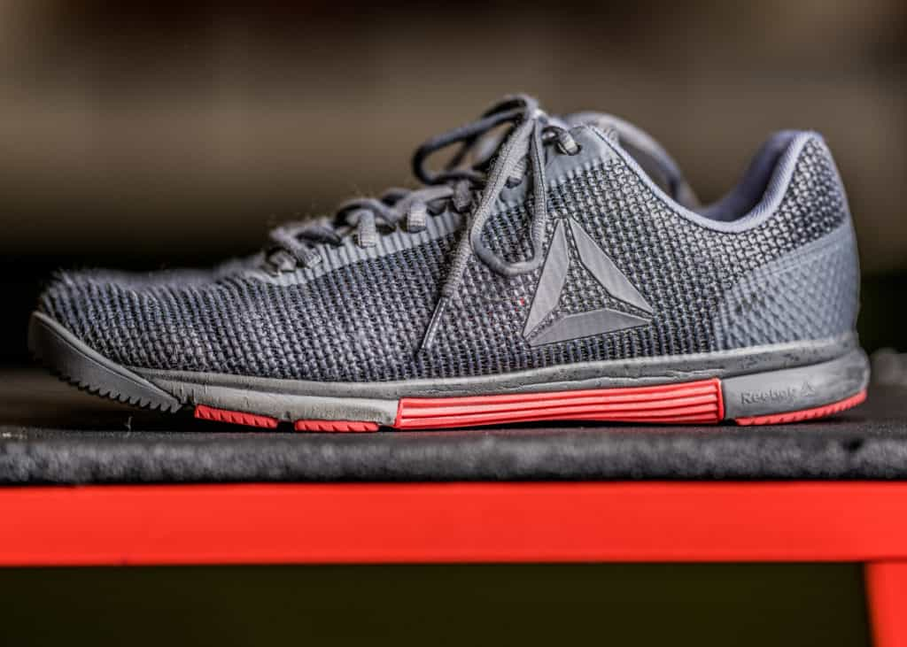 tr flexweave shoe side
