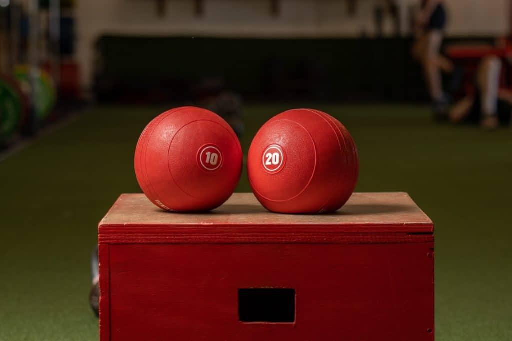 slam balls for home gym